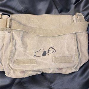 Handbags - Snoopy messenger bag/ computer bag